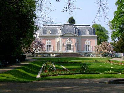 Ein Palais in Rosa