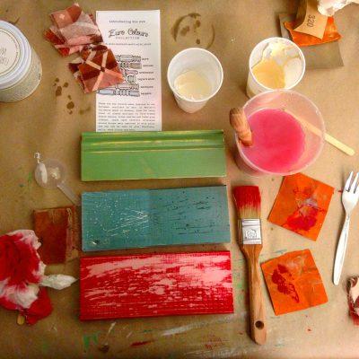Miss Mustard Seed Milkpaint ist eine VOC freie Kaseinfarbe, die mit Wasser nach Bedarf angerührt wird