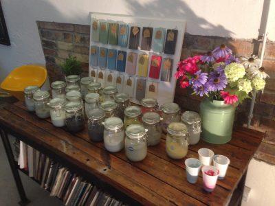 Aus den 23 Miss Mustard Seed Milk Paint Farben haben wir diesmal den Farbton Linen ausgewählt
