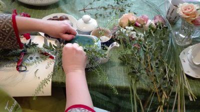 Vintage Flower Workshops gibt es jetzt seit Neuestem in Lottas Kaufladen